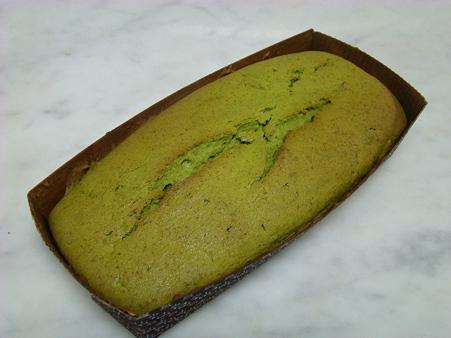 お年賀に抹茶パウンドケーキ