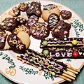 Photos: バレンタイン・デ~♪デコチョコクッキー