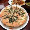 Photos: 雛祭りでケーキ風押し寿司♪