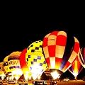 写真: Night Balloon