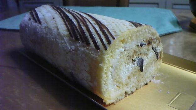 写真: シーキューブのロールケーキ