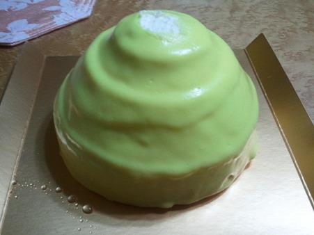 イタリアンレモンのチーズケーキ