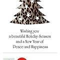 Photos: season's greetings from misakoOtake