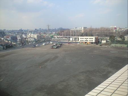 東京工業大学 大岡山団地 グランド (2010-02-19)