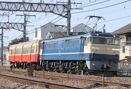 EF65-501+キハ30-62