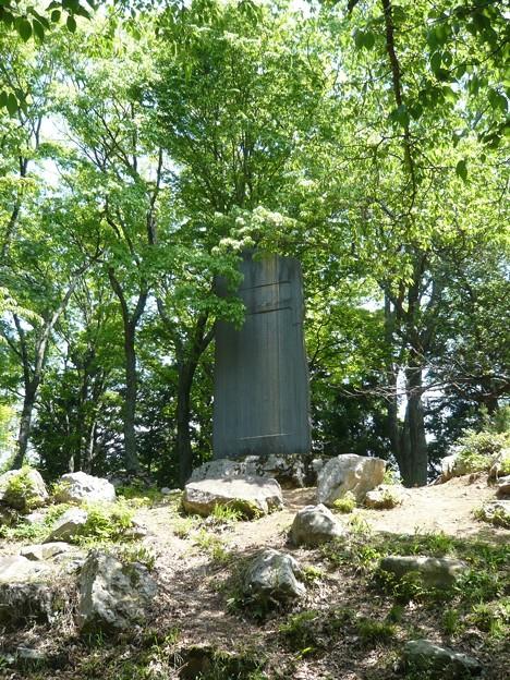 P1210761小谷城跡之碑