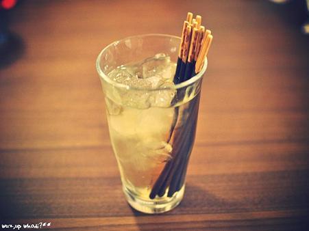 梅酒 in ポッキー。