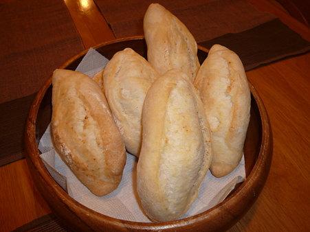 フランスパンのできあがり!