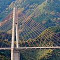 秋の鮎の瀬大橋