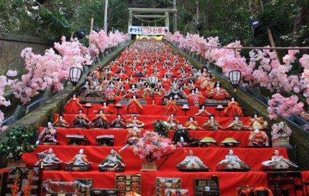 2010.03.01 千葉 勝浦ビックひな祭り 遠見岬神社-1