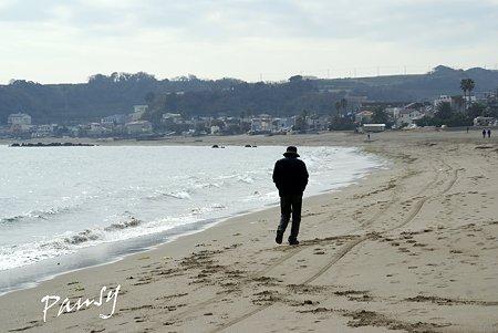 歩く・・ 三浦海岸にて・・