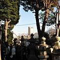 Photos: 松陰神社から見えました