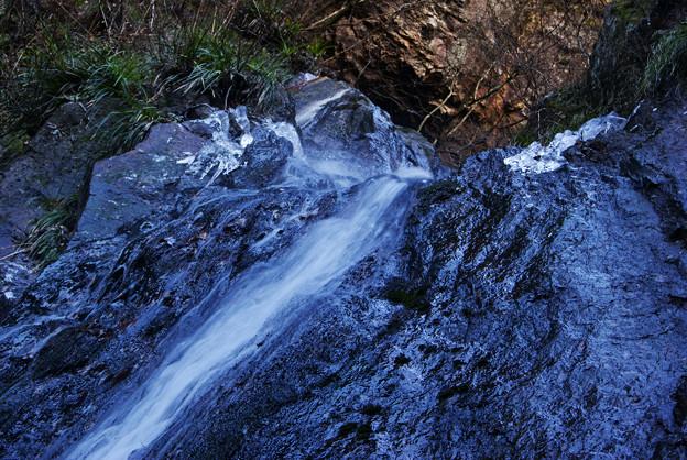 夢想滝の氷柱