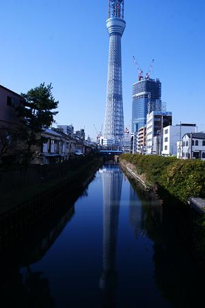 逆さスカイツリー!(20101218)