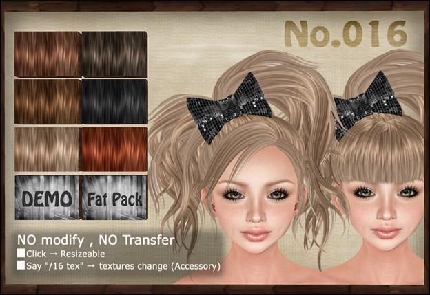 [ Love Soul ] Hair*016*