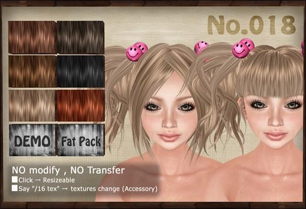 [ Love Soul ] Hair*018*