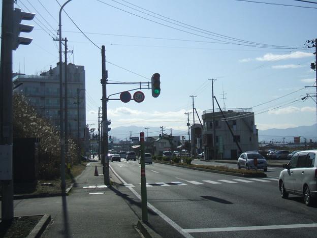 国道49号 - 鶴賀町