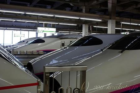 新幹線いっぱい…