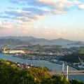 浄土寺山からの島並み