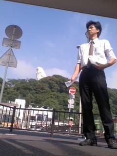7月8日(火)大船駅朝駆け(角田晶生)