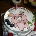 Photos: レピピの誕生日ケーキ