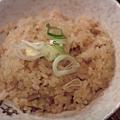 肉茶飯200円。