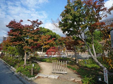 太宰府天満宮の浮殿の紅葉