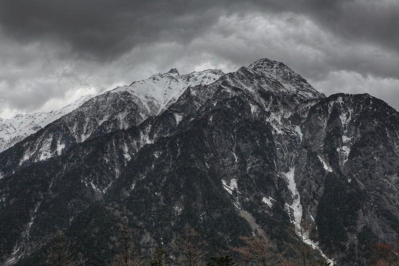 HDR北アルプス明神岳