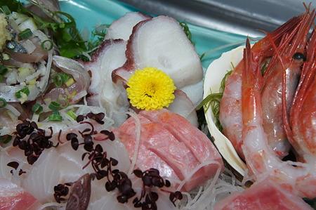 金目と北海蛸