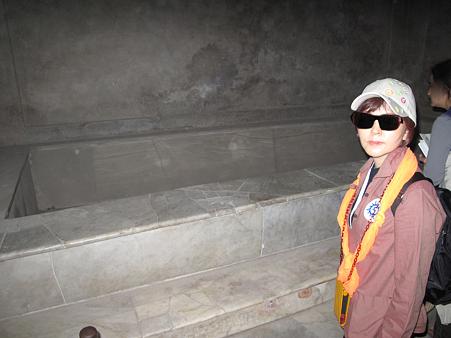 世界遺産・ポンペイ遺跡・浴槽跡