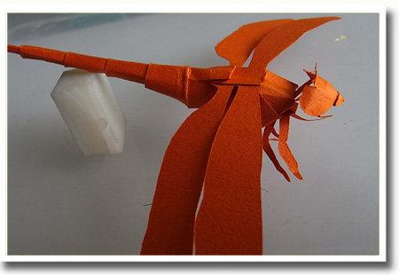トンボ最新版 切り折り紙