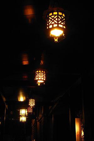 愛宕吊り灯篭