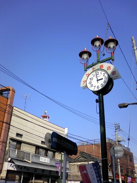 街灯マニア■アサヒ商店街の街灯