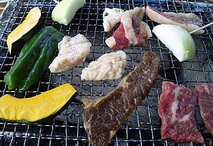 白老牛で焼き肉