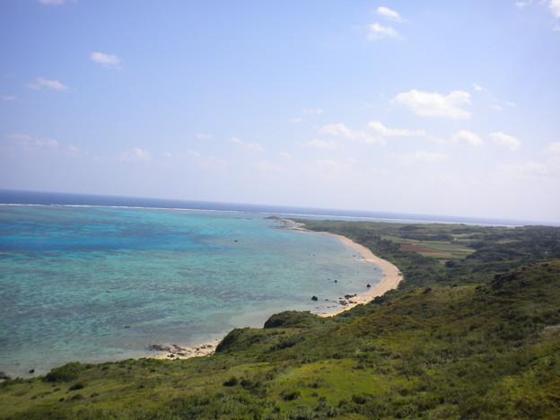 石垣島最北端風景2(1の右側)