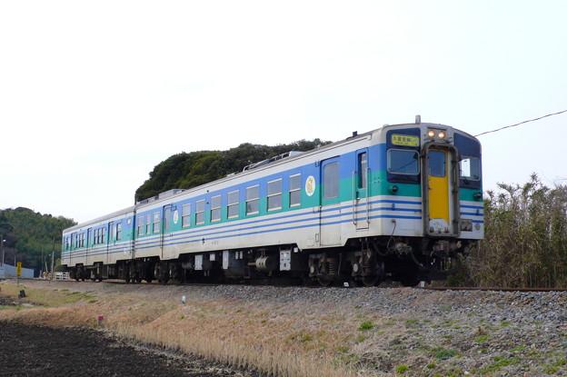 キハ37形+キハ38形(久留里線)(2010年2月撮影)