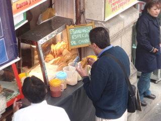 サルテーニャの立ち食い