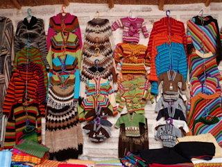 ボリビア土産はやっぱりアルパカのセーター