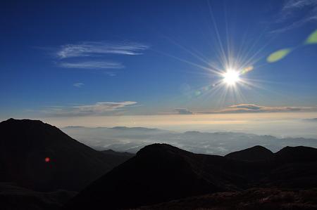 中岳山頂からの眺望