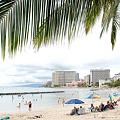 <ワイキキ海岸・ON THE BEACH>