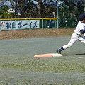 写真: 一塁手はどこのチームも