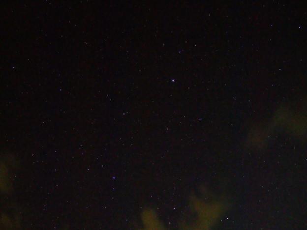 布良浜(館山)の星空 うしかい座とかんむり座