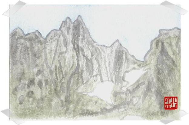 03北ア・剣岳 チンネと三の窓
