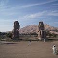 写真: メムノンの巨像