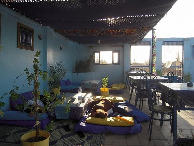 写真: ルクソールOASISの屋上